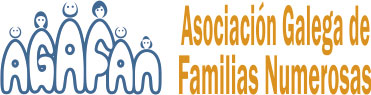 Asociación Galega de Familias Numerosas Logo